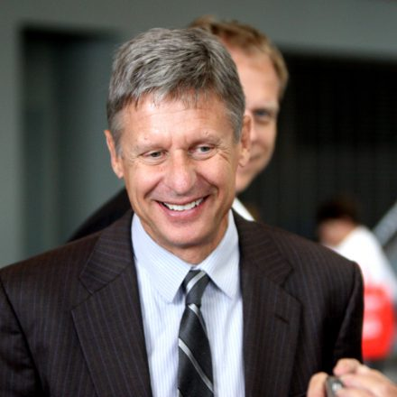 Who is Gary Johnson?