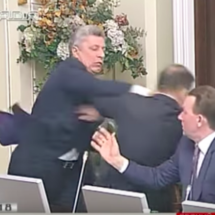 The Tradition of Fighting in the Ukrainian Parliament