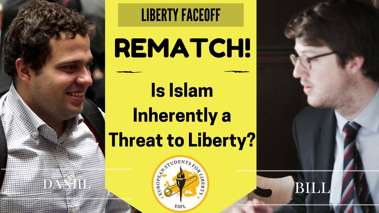 Liberty Face Off REMATCH: Is Islam Inherently a Threat to Liberty?