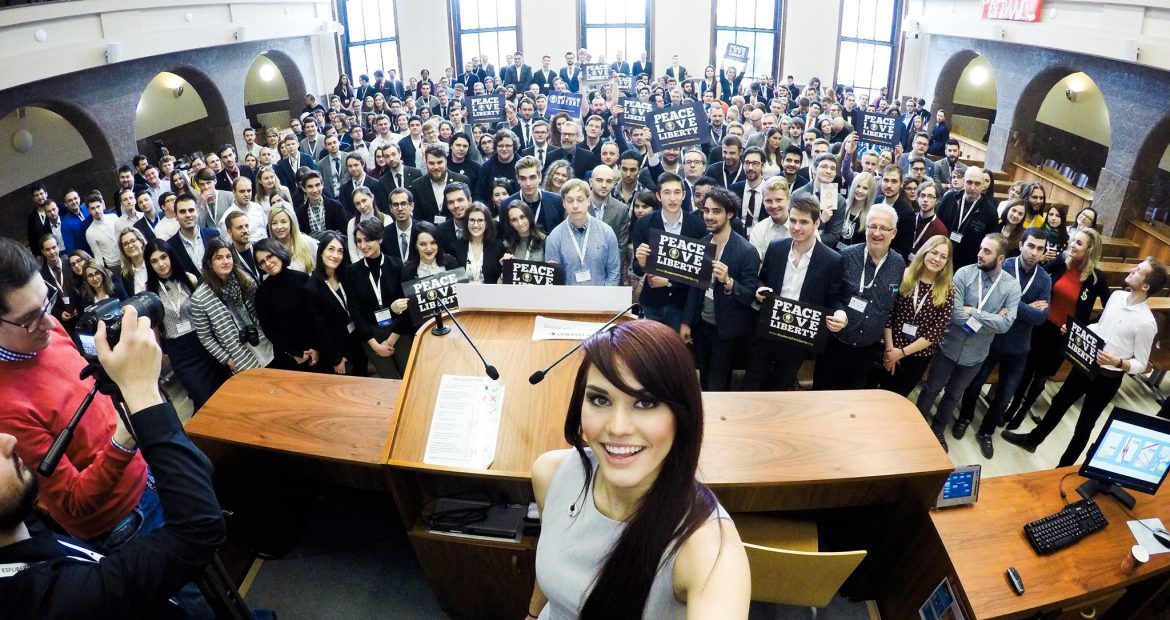 Why LibertyCon is due to become Europe's most important youth event for students