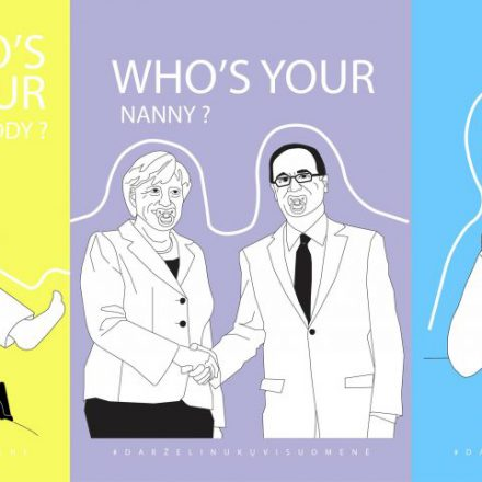 Who's your Nanny? – A new campaign by Vilnius Students for Liberty
