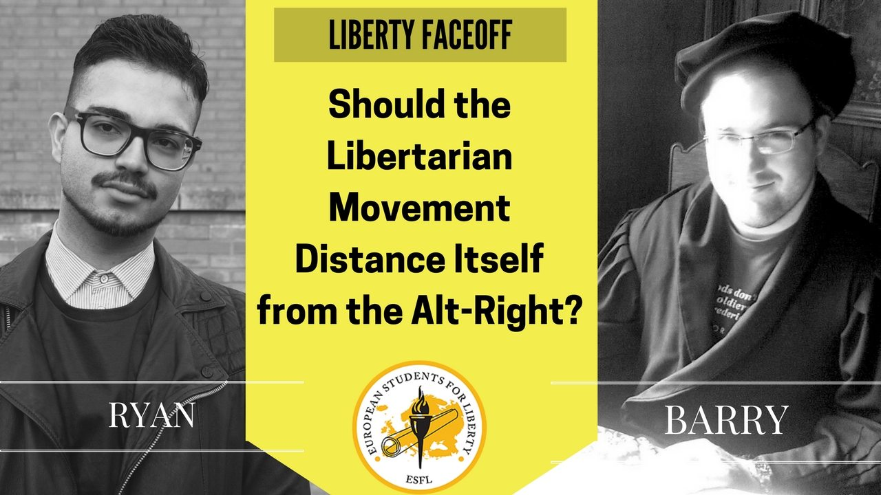 Liberty Face Off: Should the Liberty Movement Distance Itself from the Alt-Right?