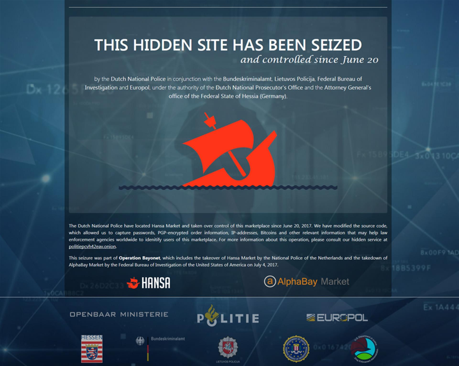 The Fight Against Darknet Markets Will Lead us Nowhere