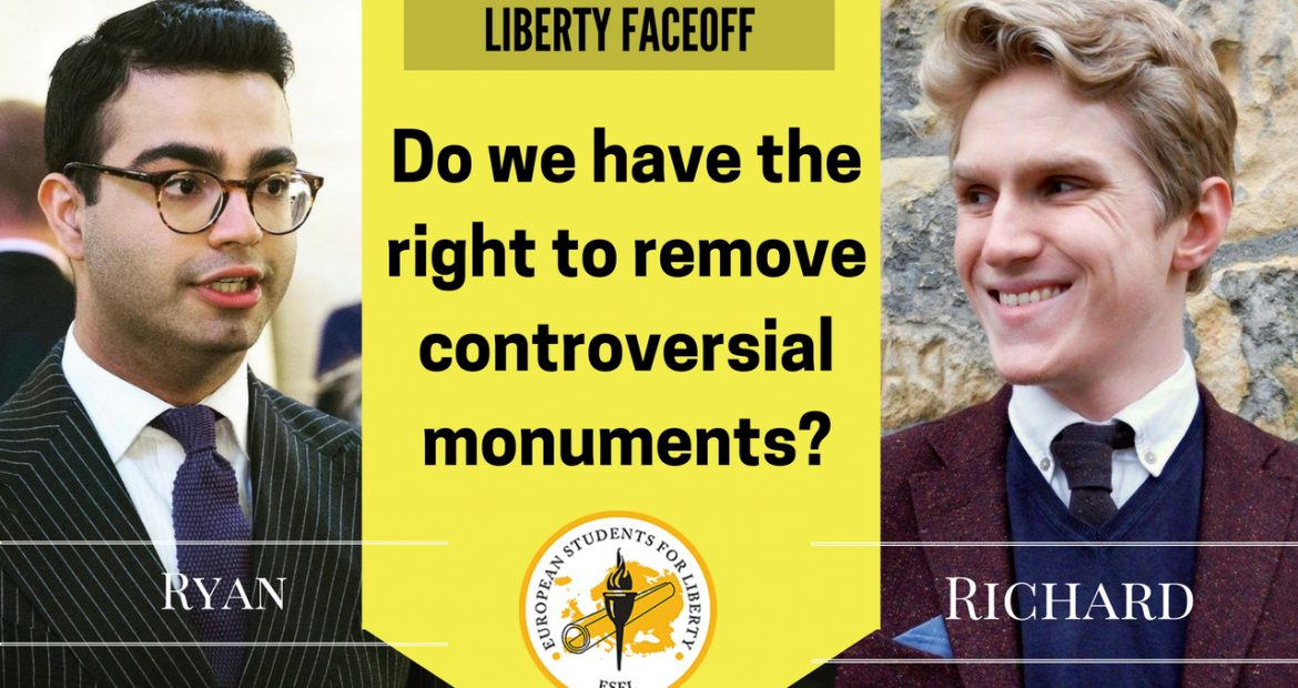 Liberty Faceoff – Do we Have the Right to Remove Controversial Monuments?