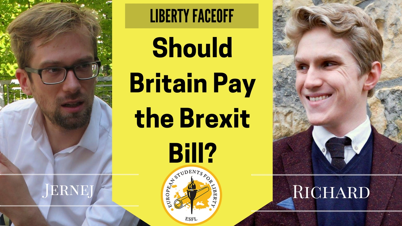 Liberty Face-Off: Should Britain Pay the Brexit Bill?