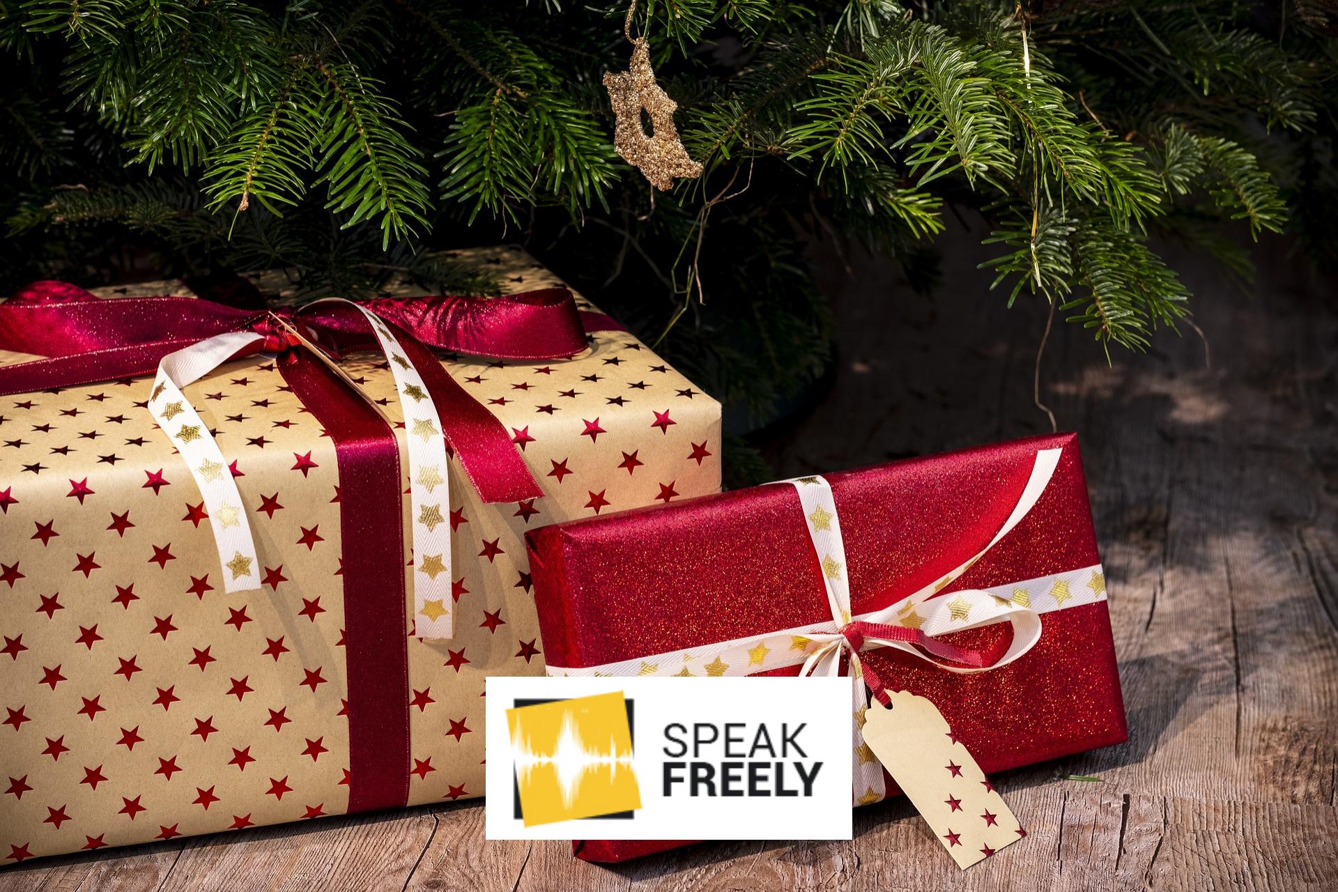 Merry Christmas from Speak Freely!
