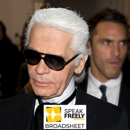 Karl Lagerfeld: the First and Last of his Kind