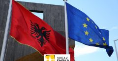 What is happening in Albania?