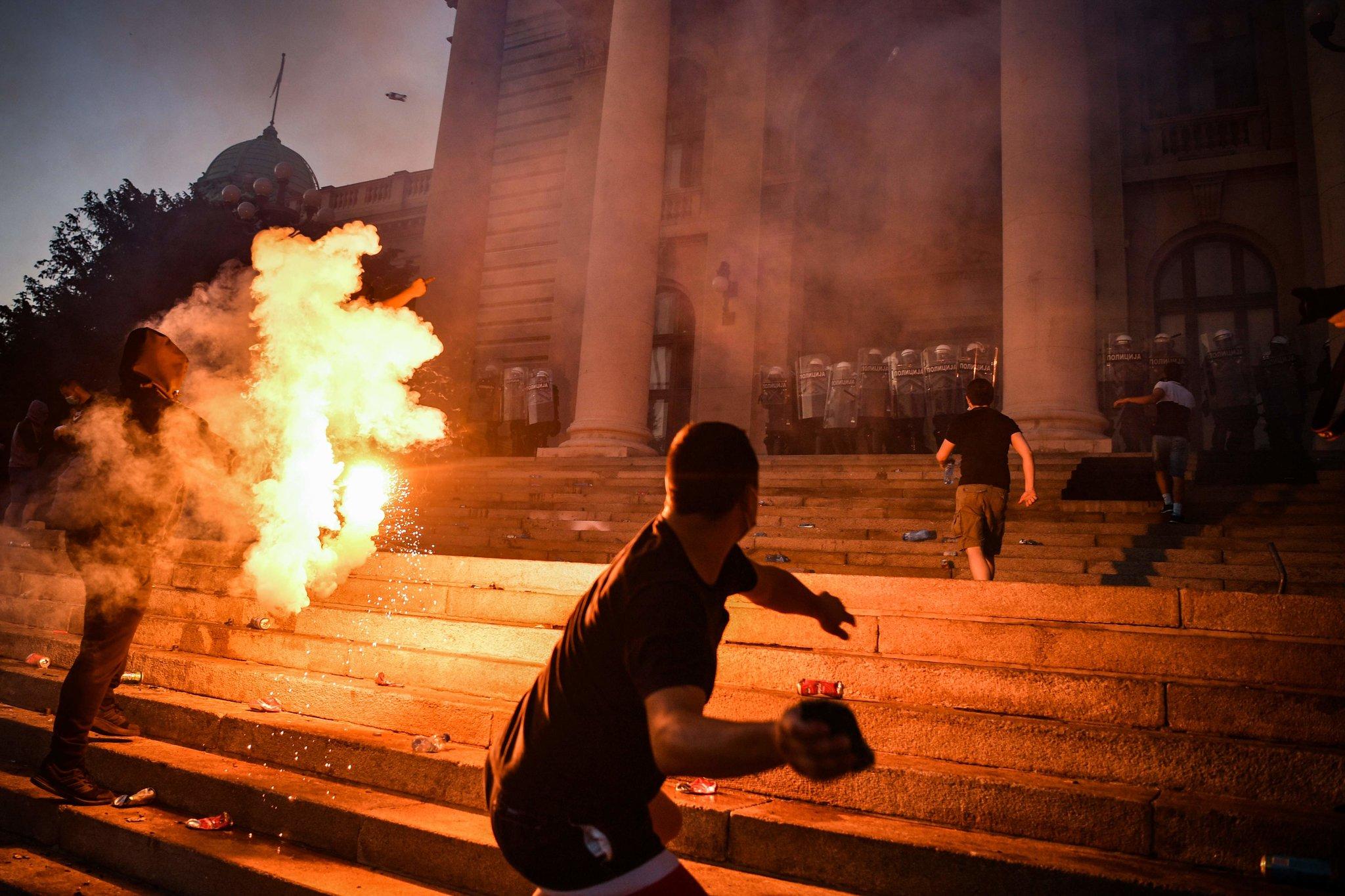 Belgrade is Burning